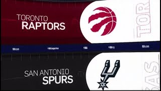 Toronto Raptors vs San Antonio Spurs Game Recap | 1/3/19 | NBA
