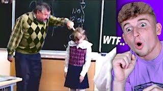 Teacher GONE MAD At Little Kid In Front Of Class..