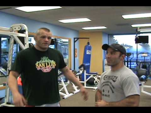 Chuck Liddell talks about training with Leo Frincu Image 1