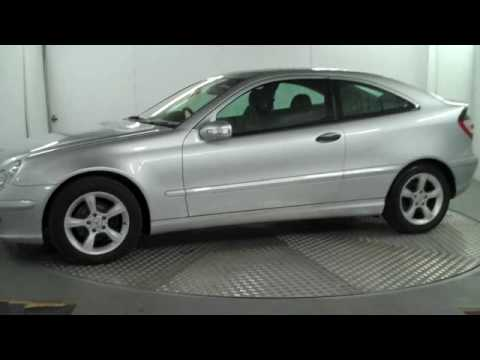 mercedes benz c class coupe c180 kompressor youtube. Black Bedroom Furniture Sets. Home Design Ideas
