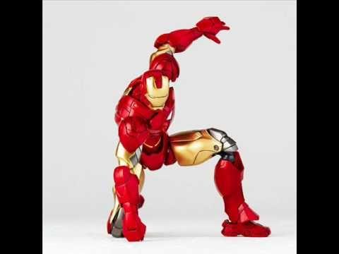 Boneco Homem de Ferro Revoltech - Mark VI - Homem de Ferro 2 - Kaiyodo - Iron man