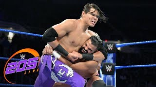 Humberto Carrillo & Gentleman Jack Gallagher vs. The Singh Brothers: WWE 205 Live, May 21, 2019