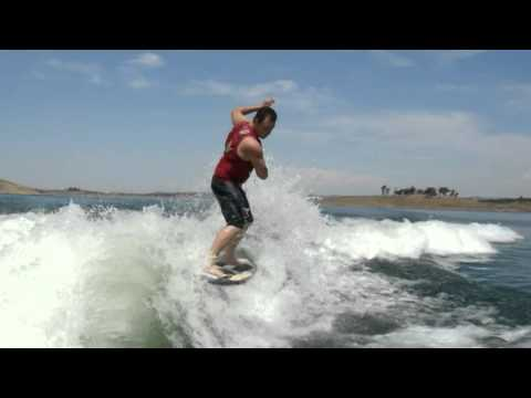 James Walker wakesurfing in: What the???!!!!