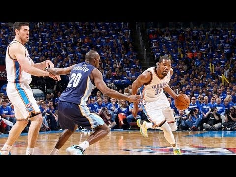 2013 NBA Playoffs: OKC Thunder vs Memphis Grizzlies Preview