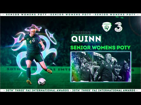 Louise Quinn named 3 FAI Women's Senior International Player of the Year 2019