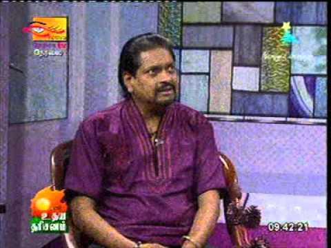 Udayadarisanam On Nethra Tv- Gnani Pichayappa Flute Artist