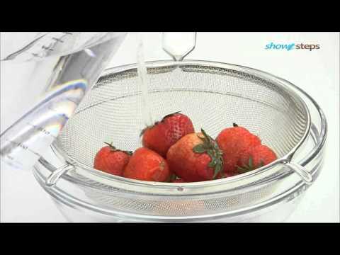 Как приготовить клубнику - видео
