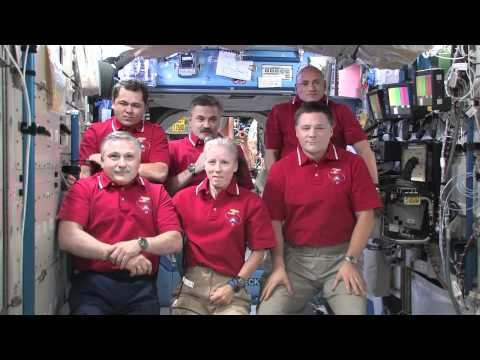 ISS Crew Answers Questions From Reporters on the 10th Anniversary of Human Presence on ISS