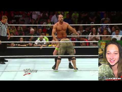 Wwe Raw 7 28 14 John Cena Vs Cesaro Live Commentary video