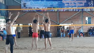 [Live] Cambodia Best Volleyball - Yun Super Vs Pork