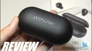REVIEW: Mpow T5 - TWS Wireless Earbuds (Leather Case)