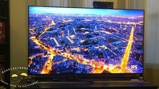 01. LG 65LA9700 UHDTV 4K Unboxing & First Setup