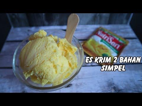 Resep Cara Membuat Es Krim Paling Mudah 2 Bahan