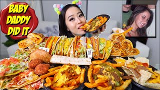 ENTIRE TACO BELL MENU (tacos + nacho fries + burritos) MUKBANG 먹방 | Eating Show