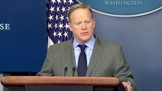 White House Press Briefings. New White House Press Secretary Sean Spicer Statement.
