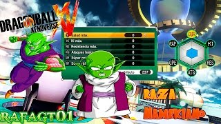 Dragon Ball Xenoverse Guia Atributos- Raza Namekiano