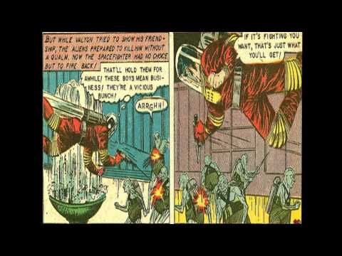 Space Action :: The Silicon Monsters from Galaxy X