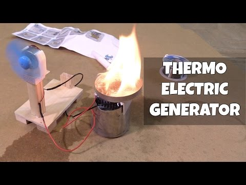 Thermoelectric Generator Kit