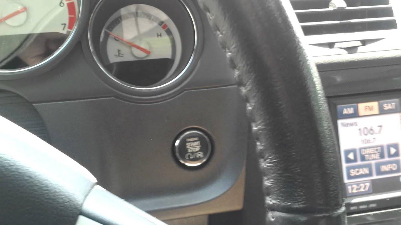Dodge Challenger Push Button Start Youtube