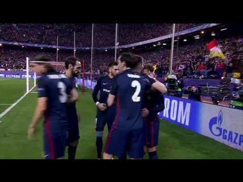Gol de Antoine Griezmann ~Atletico Madrid 1 x 0  Barcelona [Champions League 2016] HD