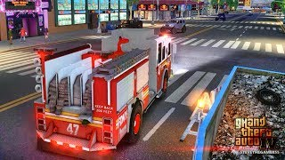 Grand Theft Auto IV - FDLC/FDNY - 52nd day with the fire department! #TBT