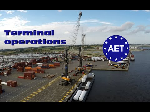 Antwerp EuroTerminal AET - Terminal operations compilation Port of Antwerp - One hour long 100GB