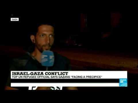 Top Un refugee official says Gazans