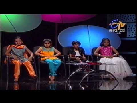 yede thumbi hadidenu amulya at 2nd std- very first episode