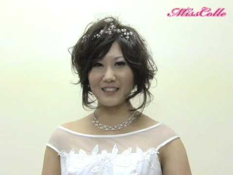 成長しました!ウエディングドレス姿の後藤浩枝 コメント