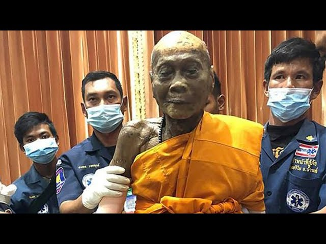 Buddhist Monk Found SMILING 2 Months After Being Buried