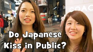 Do Japanese Kiss in Public? (PDA Interview)