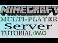 How To Make A Minecraft Server (Mac) - HD