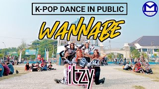 K-Pop Dance in Public ITZY - Wannabe by MILLION Dance Cover from Indonesia