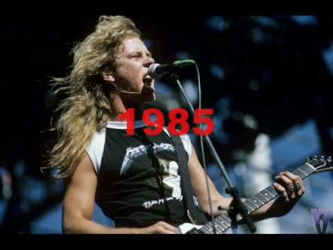James Hetfield Voice Change, 1983-2010, Seek and Destroy