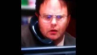 The Office: Dwight Vs The Computer...Sales Competion