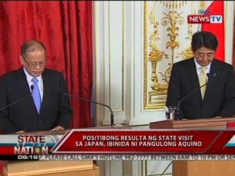 SONA: Positibong resulta ng state visit sa Japan, ibinida ni Pangulong Aquino