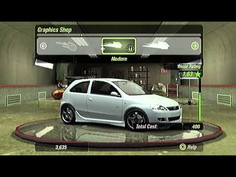 NFS Underground 2 - Stage 2 - HARD (PS2, EU-Version)