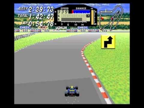 Race #1307 (of 5008?) in my 2012 BPISPORTS.COM Man v. Game challenge on the Super Nintendo Entertainment System's F1 ROC: Race of Champions (known in Japan a...