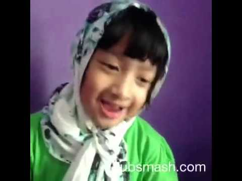 video lucu dubsmash anak kecil nayla & kesya part