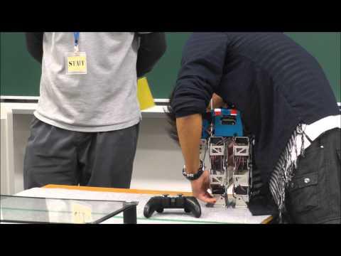 ヒト型レスコン2013ファイナルミッション第2競技