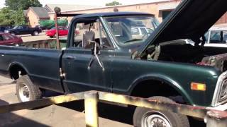 Chevy c30 pick up truck 4x4 walkaround