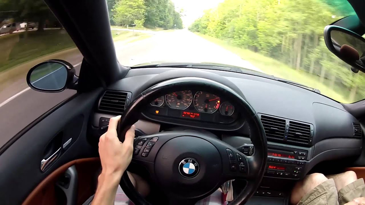 E46 Bmw M3 Pov Driving Youtube
