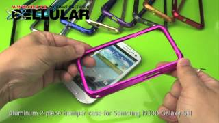 Samsung i9300 Galaxy S III aluminum 2-piece bumper case_ 10 colors