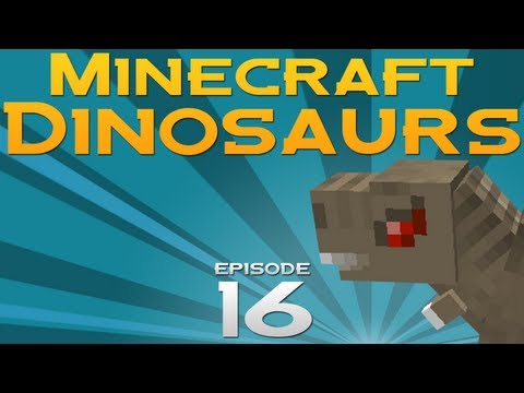 Minecraft Dinosaurs! - Episode 16 - Mammoth battles T-Rex!