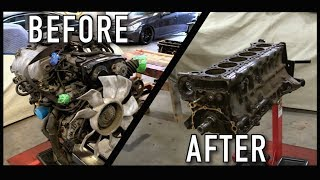 Disassembling the 240SX
