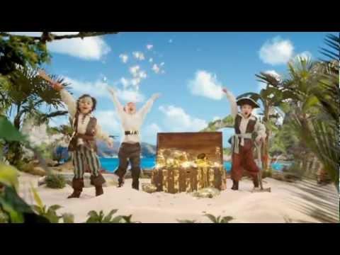 Barco Pirata musical Bucky Jake y los piratas de Nunca Jamás FISHER PRICE www.puppentoys.com