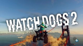 AWESOME STUNTS! | WATCH DOGS 2 PARKOUR, STUNTS, FAILS #2