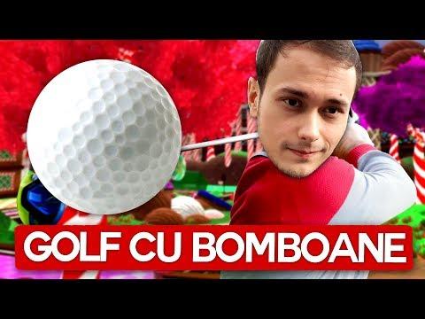 Golf cu BOMBOANE! Max si Pisica