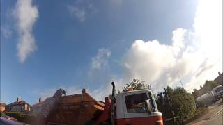 19 08 2013 Sea Mills skip hire random abuse from driver