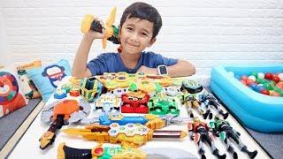 Koleksi Mainan Legend Hero Superduper Ziyan